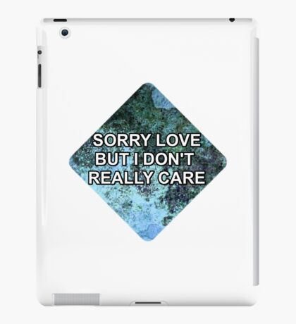 Happily (Sorry Love) - One Direction iPad Case/Skin