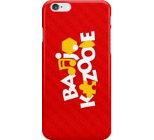 Bear & Bird - Red iPhone Case/Skin
