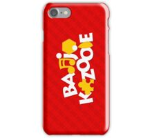 Bear & Bird - Red iPhone Case/Skin