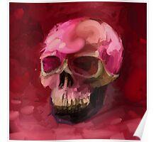 Amaranth Skull Poster