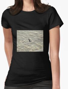 Wedge-Tailed Eagle Soaring Womens Fitted T-Shirt