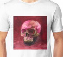 Amaranth Skull Unisex T-Shirt