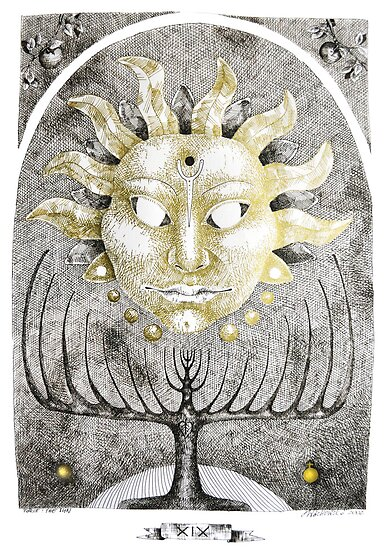 Tarot: The Sun by Donata Zawadzka