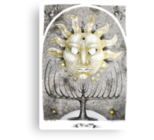 Tarot: The Sun Canvas Print