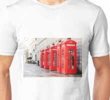 Telephone Boxes Unisex T-Shirt