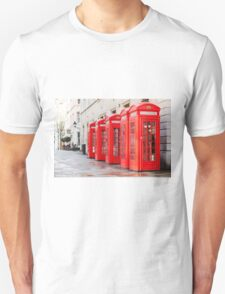Telephone Boxes T-Shirt