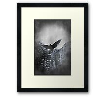 Flying The Black Flag of Himself Framed Print