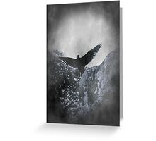 Flying The Black Flag of Himself Greeting Card