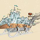 Mortal Engines: Anchorage Closeup by Kirsty Mordaunt