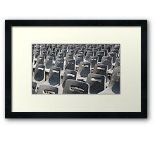 """Papal Seating"" Framed Print"