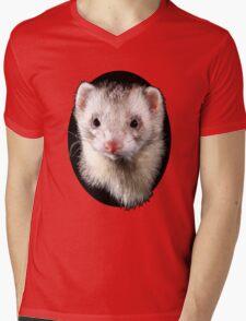 Ferret Mens V-Neck T-Shirt