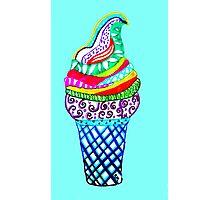 Celebrate Ice-Cream!  Photographic Print