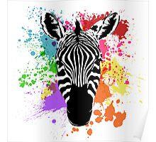 Spectrum Stripes Poster