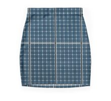 Solar panelling on a house. Mini Skirt