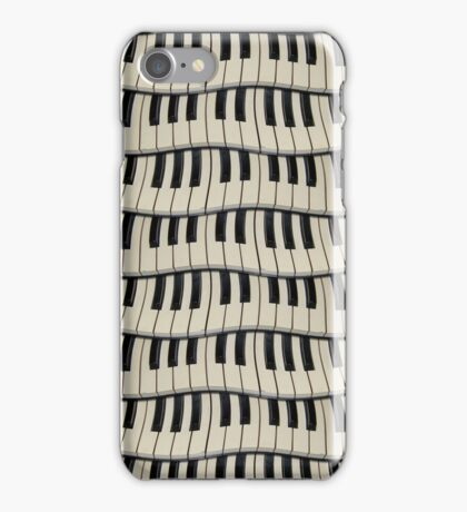 Rock And Roll Piano Keys iPhone Case/Skin