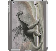Hunting a troublesome dragon. (vertical) iPad Case/Skin