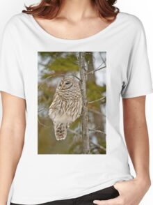 Barred Owl Women's Relaxed Fit T-Shirt