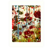 Abstract Colors Oil Painting #55 Art Print