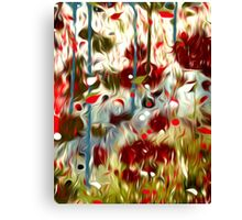 Abstract Colors Oil Painting #55 Canvas Print