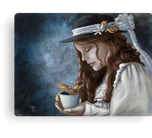 Dragon Steamed Tea Canvas Print