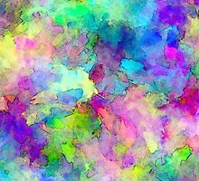Abstract Patches of Color by Phil Perkins