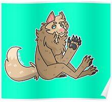 werewolf gal Poster