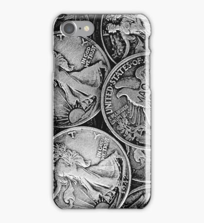 Walking Liberty Coins iPhone Case/Skin