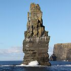 Sea Stack,Cliffs of Moher,Co.Clare by Jean O'Callaghan