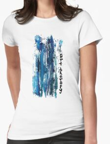ART THERAPY Womens Fitted T-Shirt