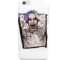 Joker Jared Leto iPhone Case/Skin