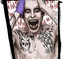 Joker Jared Leto by galaxysalvo