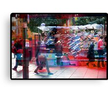 Fruity Oxford Street Canvas Print