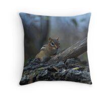 woodland critter Throw Pillow