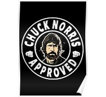 Chuck Norris Approved Poster