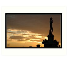Davide, Piazza Michelangelo Art Print