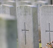 Somme cemetery by Tony Roddam