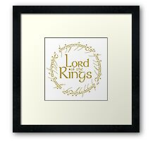 LORD OF THE RINGS / EL SEÑOR DE LOS ANILLOS Framed Print