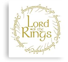 LORD OF THE RINGS / EL SEÑOR DE LOS ANILLOS Canvas Print