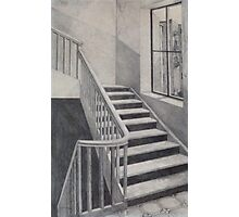Empty Stairwell Photographic Print