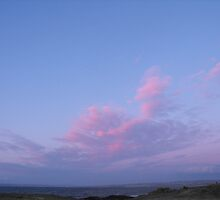 Pink Marshmallow clouds by Jean O'Callaghan