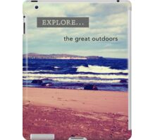 Explore The Great Outdoors iPad Case/Skin