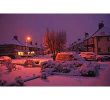 Snowy Southend  Photographic Print