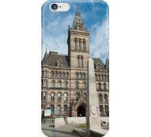 Manchester Town Hall East Facade  iPhone Case/Skin