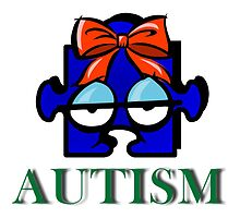 Autism Face by Jonice