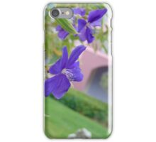Flowers at Caribbean Beach Resort iPhone Case/Skin