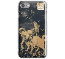 8 Dog Chronicles - Night iPhone Case/Skin