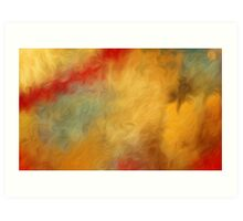Abstract Colors Oil Painting #65 Art Print