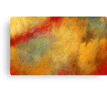 Abstract Colors Oil Painting #65 Canvas Print