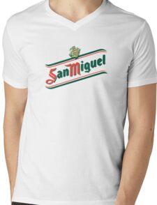 San Miguel Mens V-Neck T-Shirt
