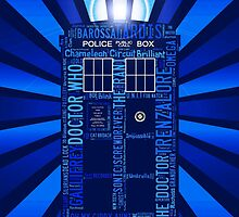 Tardis of Text by CosmicThunder